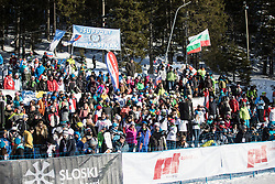 during the FIS snowboarding world cup race in Rogla (SI / SLO) | GS on January 20, 2018, in Jasna Ski slope, Rogla, Slovenia. Photo by Urban Meglic / Sportida
