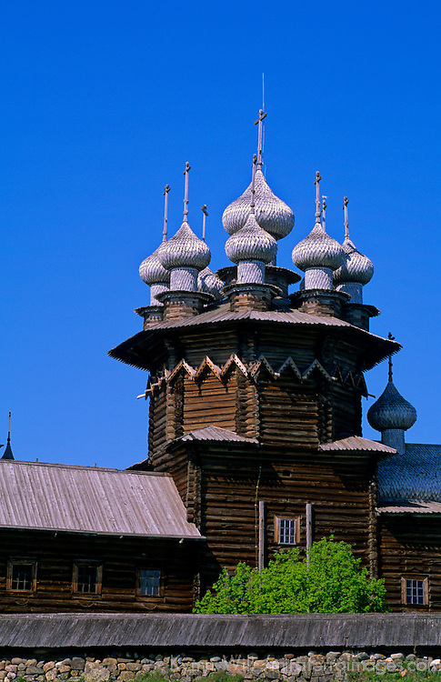 Europe, Russia, Kizhi Island. Church of Intercession