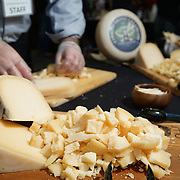 American Lamb Board Global Flavors Lamb Tour: Lamb Jam Seattle. Cypress Grove cheese.