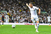 Leeds United defender Barry Douglas (3) during the EFL Cup match between Leeds United and Stoke City at Elland Road, Leeds, England on 27 August 2019.