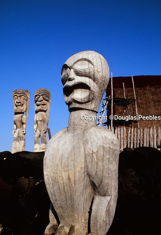 Pu'uhonua O Honaunau National Park, Island of Hawaii, Hawaii, Big Island of Hawaii