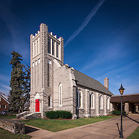 Saint Michaels Lutheran Church exterior image by Jeffrey Sauers of Commercial Photographics, Architectural Photo Artistry in Washington DC, Virginia to Florida and PA to New England