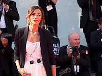 Anna Foglietta at the premiere of the film Foxtrot at the 74th Venice Film Festival, Sala Grande on Saturday 2 September 2017, Venice Lido, Italy.