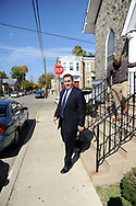 10/17/10 12:31:48 PM -- Darby, PA<br />  -- Democratic Congressional candidate Bryan Lentz campaigns October 17, 2010 at a First Baptist Church in Darby, Pennsylvania. Bryan Lentz  faces Republican Pat Meehan  in the Nov. 2 general election.   --  Photo by William Thomas Cain/Cain Images