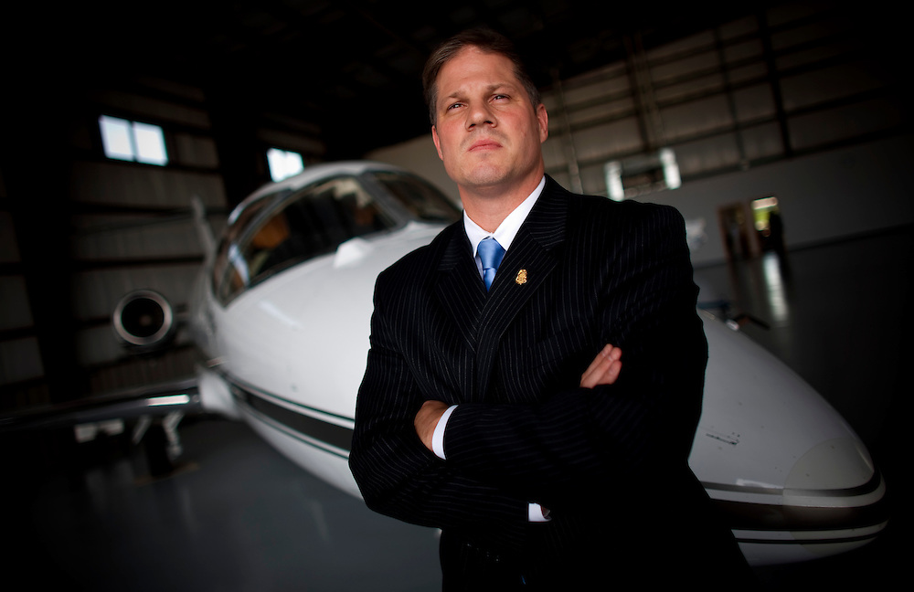 Brian Dorow developed a new program for improving security at small and mid-sized airports.