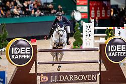 JUNG Michael (GER), fischerDaily Impressed<br /> Leipzig - Partner Pferd 2019<br /> IDEE Kaffe Preis<br /> CSI5*<br /> 18. Januar 2019<br /> © www.sportfotos-lafrentz.de/Stefan Lafrentz