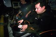 DJ 'Lil' Louis Vega dj'ing 1990's