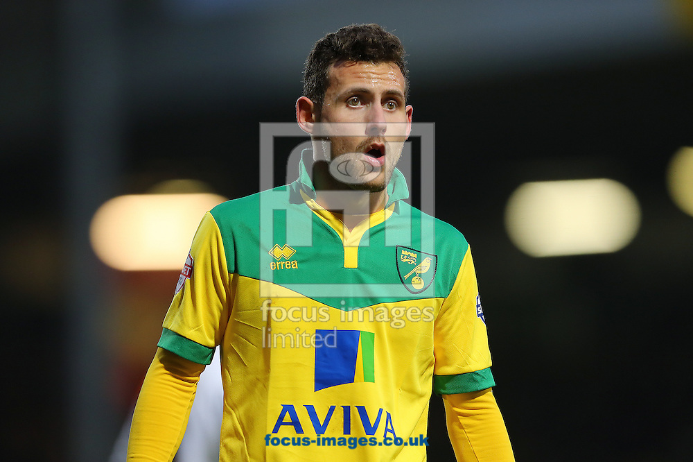 Tony Andreu made his debut as a second half substitute during the Sky Bet Championship match against Blackpool at Carrow Road, Norwich<br /> Picture by Richard Calver/Focus Images Ltd +447792 981244<br /> 07/02/2015