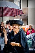 Beatrix bij viering 700 jaar Illustre Lieve Vrouwe Broederschap