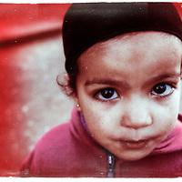 Little girl Moroccan dessert