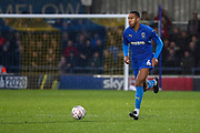 AFC Wimbledon defender Terell Thomas (6) dribbling during the The FA Cup match between AFC Wimbledon and Doncaster Rovers at the Cherry Red Records Stadium, Kingston, England on 9 November 2019.