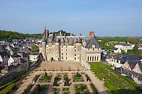 France, Indre-et-Loire (37), Vallée de la Loire classée Patrimoine Mondial de l' UNESCO, Chateau de Langeais. // France, Indre et Loire (department), Loire valley (Unesco World Heritage), Langeais castle.