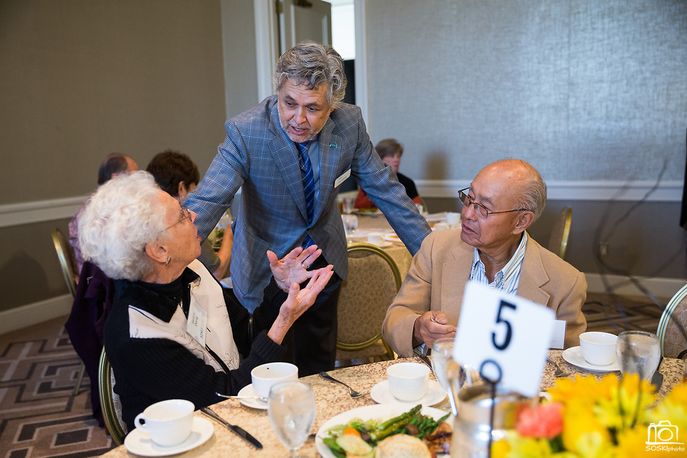 San Jose State University's Heritage Society hosts their annual luncheon at the Fairmont San Jose in San Jose, California, on October 31, 2017. (Stan Olszewski/SOSKIphoto)