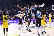 Wesley Shyaam Saunders, Andrew Eugen Crawford<br /> Vanoli Cremona - Happy Casa New Basket Brindisi<br /> Postemobile Final Eight - Finale<br /> Legabasket 2018/2019<br /> Firenze, 17/02/2019<br /> Foto M.Ceretti / Ciamillo-Castoria