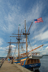 United States, Washington, Kirkland, annual Tall Ships festival on Lake Washington