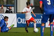 21.09.2017; Niederhasli; FUSSBALL U16 - Schweiz - Italien;<br /> Kevin Jakob (SUI) <br /> (Andy Mueller/freshfocus)