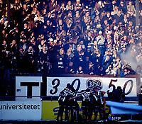Fotball , 12. april 2019 , Eliteserien , Strømsgodset - Mjøndalen<br /> ilustrasjon , 3050 banner , publikum , fan , fans , ÆLV CLASSICO