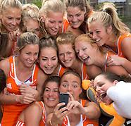 2014 Photoshoot Hofvijver dames Oranje