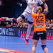 NLD/Den Bosch/20160604 - EK Kwalificatiewedstrijd handbal Nederland - Oostenrijk, Beate Scheffnechtt