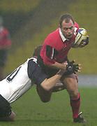 11/01/2004 - Photo  Peter Spurrier.2003/04 Parker Pen Challenge Cup Saracens v Glasgow.Kryan Bracken.   [Mandatory Credit, Peter Spurier/ Intersport Images].
