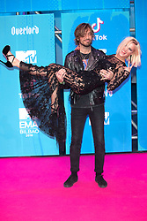 November 4, 2018 - Bilbao, Bizkaia, Spanien - Adrian Roma und Ana Fernandez bei der Verleihung der MTV European Music Awards 2018 in der Bizkaia Arena. Bilbao, 04.11.2018 (Credit Image: © Future-Image via ZUMA Press)