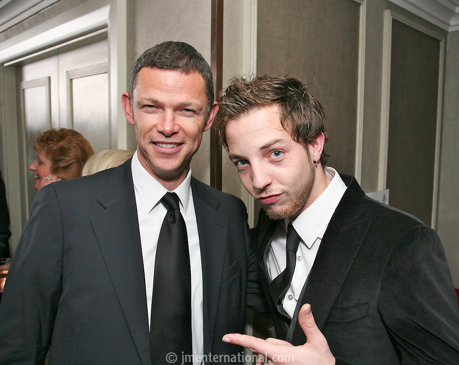 James Morrison and Manager Paul McDonald