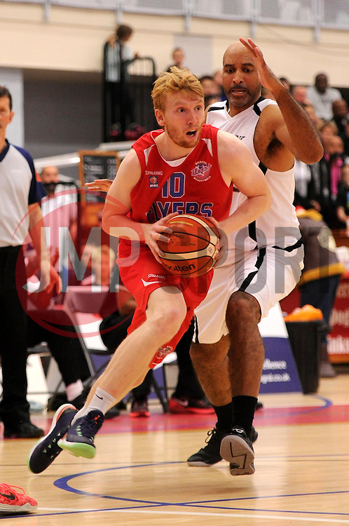 Mathias Seilund of Bristol Flyers - Photo mandatory by-line: Paul Knight/JMP - Mobile: 07966 386802 - 10/10/2015 - BASKETBALL - SGS Wise Arena - Bristol, England - Bristol Flyers v Newcastle Eagles - British Basketball League