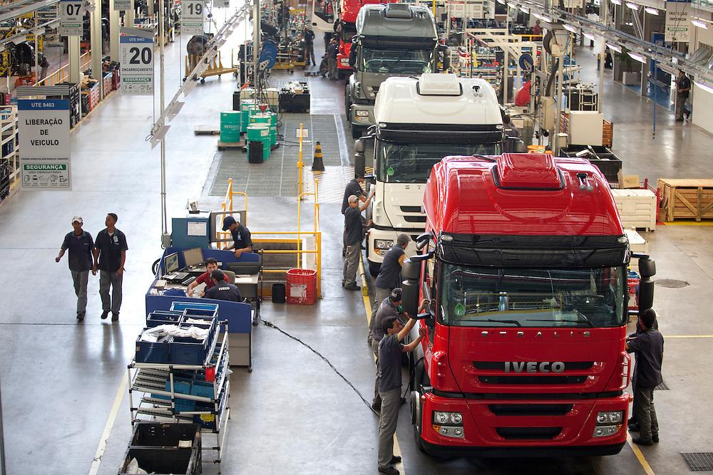 Sete Lagoas_MG, Brasil...Fabrica de caminhoes em Sete Lagoas, Minas Gerais...A truck factory in Sete Lagoas, Minas Gerais...Foto: LEO DRUMOND / NITRO