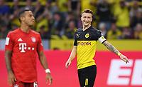 FUSSBALL 1. BUNDESLIGA   SAISON 2019/2020   SUPERCUP FINALE Borussia Dortmund - FC Bayern Muenchen    03.08.2019 Marco Reus (re, Borussia Dortmund)  DFL regulations prohibit any use of photographs as image sequences and/or quasi-video.