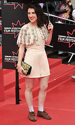 "Edinburgh International Film Festival, Sunday 26th June 2016<br /> <br /> Stars turn up on the closing night gala red carpet for the World Premiere of ""Whisky Galore!""  at the Edinburgh International Film Festival 2016<br /> <br /> Game of Thrones star Ellie Kendrick, who plays Catriona Macroon in the film.<br /> <br /> (c) Alex Todd 