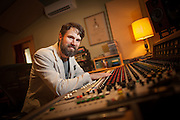 2015 May 07 - Eric Eagle, owner of Skoor Sound, West Seattle, WA, USA. By Richard Walker