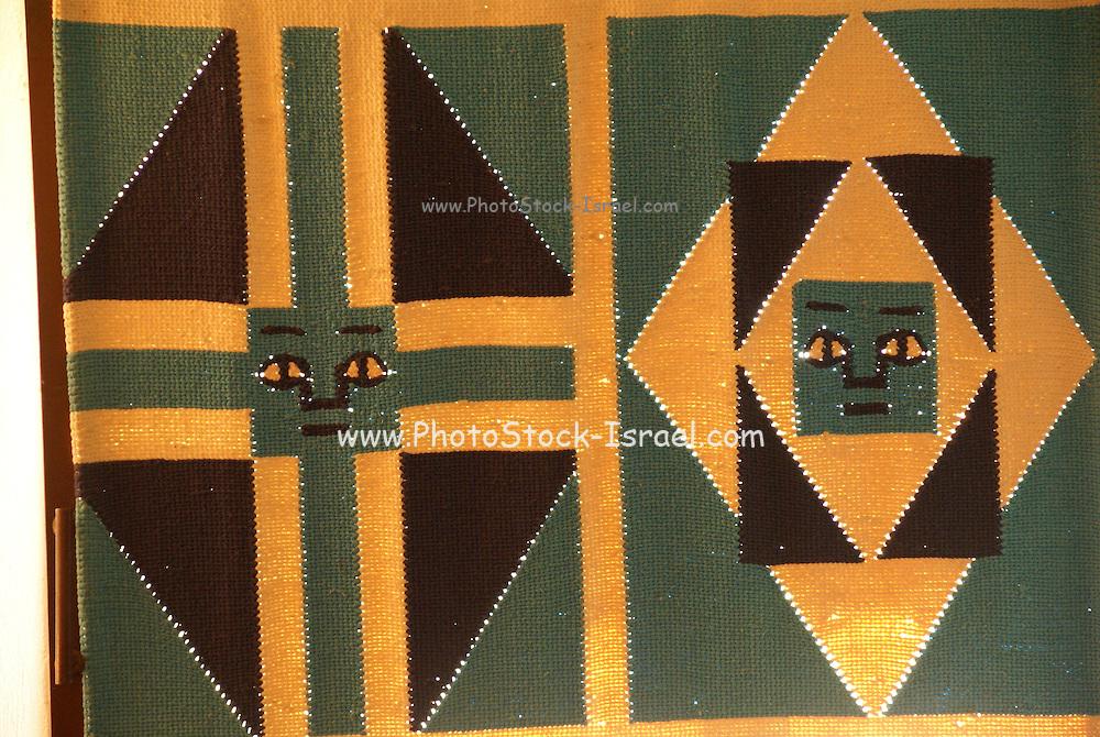 Ethiopia, Amhara Region Hand woven wall decoration