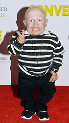 Verne Troyer attending the Premiere of the BAFTA Cymru-winning film Convenience at the Curzon Cinema in central London.