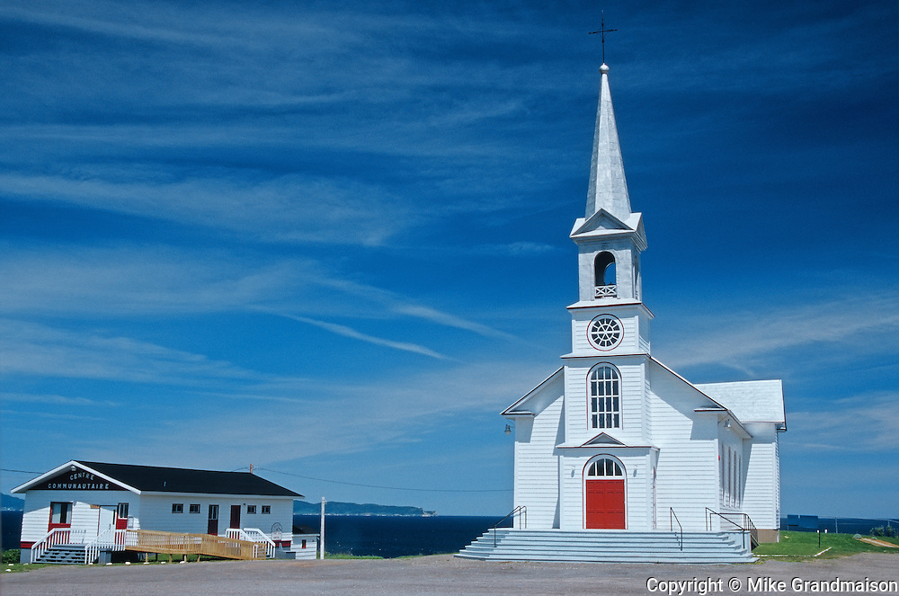church<br /> St. George de la Malbaie<br /> Quebec<br /> Canada