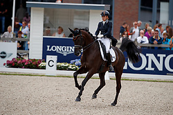 Maas Lynne, NED, Fantastique<br /> Longines FEI/WBFSH World Breeding Dressage Championships for Young Horses - Ermelo 2017<br /> © Hippo Foto - Dirk Caremans<br /> 05/08/2017