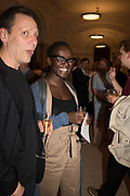 Lynette Yiadom-Boakye, Opening of The New Royal Academy of arts, London. 15 May 2018
