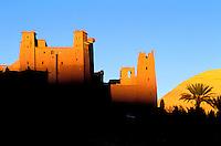 Maroc, Haut Atlas, Ouarzazate, Kasbah de Ait Benhaddou // Morocco, Ait Benhaddou Kasbah, Ouarzazate area.