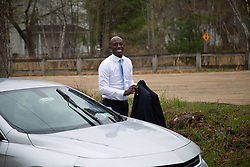 May 2, 2019 - Raymond, NH, U.S - Presidential candidate Wayne Messam met with Raymond Democrats at the Tucker Lodge #99 in Raymond, NH on May 02, 2019. Wayne drove himself, and came alone. (Credit Image: © Allison Dinner/ZUMA Wire)