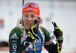11.01.2018, Chiemgau Arena, Ruhpolding, GER, IBU Weltcup Biathlon, Ruhpolding, Einzel, Damen, im Bild Laura DAHLMEIER (GER) // during Ladies Individual of BMW IBU Biathlon World Cup at the Chiemgau Arena in Ruhpolding, Germany on 2018/01/11. EXPA Pictures © 2018, PhotoCredit: EXPA/ Ernst Wukits