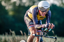 Stef Clement of Lotto NL - Jumbo, Dutch Individual Time Trial Nationals Men Elite, Stokkum, Montferland, The Netherlands, 21 June 2017. Photo by Pim Nijland / PelotonPhotos.com | All photos usage must carry mandatory copyright credit (Peloton Photos | Pim Nijland)