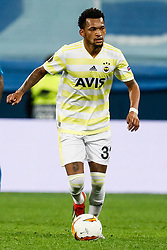 February 21, 2019 - Saint Petersburg, Russia - Jailson of Fenerbahce SK in action during the UEFA Europa League Round of 32 second leg match between FC Zenit Saint Petersburg and Fenerbahce SK on February 21, 2019 at Saint Petersburg Stadium in Saint Petersburg, Russia. (Credit Image: © Mike Kireev/NurPhoto via ZUMA Press)