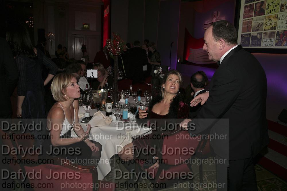 Mariella Frostrup,  Costa Book Awards 2006. Grosvenor House Ballroom. Park Lane, London. 7 February 2007. -DO NOT ARCHIVE-© Copyright Photograph by Dafydd Jones. 248 Clapham Rd. London SW9 0PZ. Tel 0207 820 0771. www.dafjones.com.