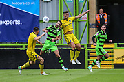Forest Green Rovers Christian Doidge(9) in action during the Pre-Season Friendly match between Forest Green Rovers and Bristol Rovers at the New Lawn, Forest Green, United Kingdom on 22 July 2017. Photo by Shane Healey.