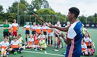 AMSTELVEEN  - Sportways hockeykamp .ambassadeur Terrance Pieters  COPYRIGHT  KOEN SUYK