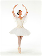 portrait of dancer for Ft Lauderdale children's ballet