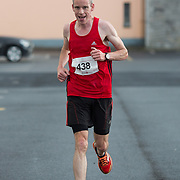 25.08. 2017.                                                      <br /> Almost 200 UL Hospitals Group staff, past and present, and members of the public completed the annual 5k Charity Run/Walk on Friday August 25th in Limerick.<br /> <br /> Gary Egan, An Bru A.C. arriving in 2nd place.<br /> <br /> <br /> Everybody who participated also raised funds for Friends of Ghana, an NGO formed last year by UL Hospitals Group and its academic partner the University of Limerick to deliver medical training programmes in the remote Upper West Region of Ghana. Picture: Alan Place