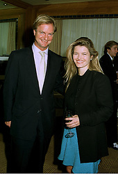 MR MARK SWIRE and his sister MISS SOPHIA SWIRE members of the wealthy Hong Kong family, at a party in London on 22nd July 1997.MAO 10