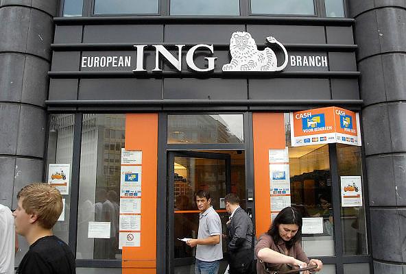 Belgie, Brussel, 28-7-2011Kantoor, vestiging van de ING bank.Foto: Flip Franssen/Hollandse Hoogte