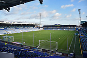 General stadium view Fratton Park during the EFL Sky Bet League 1 match between Portsmouth and Sunderland at Fratton Park, Portsmouth, England on 22 December 2018.