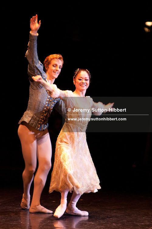 'Romeo and Juliet' performed by the Royal Ballet, with principle dancers Miyako Yoshida (pictured) and Steven McRae in the lead roles, at the Bunka Kaikan hall, in Tokyo, Japan, Tuesday 29th June 2010. The performance was part of the company's 2010 summer tour to Japan. Principle dancer Miyako Yoshida performed for the last time with the Royal Ballet, bringing to an end her 25 year career with the company.) and Steven McRae (pictured) in the lead roles, at the Bunka Kaikan hall, in Tokyo, Japan, Tuesday 29th June 2010. The performance was part of the company's 2010 summer tour to Japan. Principle dancer Miyako Yoshida performed for the last time with the Royal Ballet, bringing to an end her 25 year career with the company.